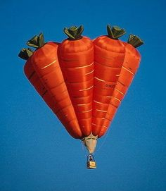 Carrots Hot Air Balloon