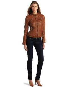 MICHAEL Michael Kors Women's Zip Front Jacket $400.00