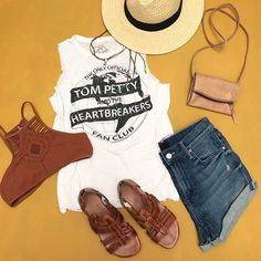 Who's outfit preppin' for #bottlerock ...Our new #tompetty Tank is👌🏻in stores now!