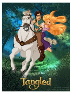 Tangled Collab by *Katikut on deviantART
