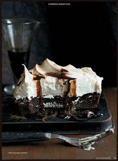 11 Donna Hay 59-Coffie Meringue Brownie, Tart Idea