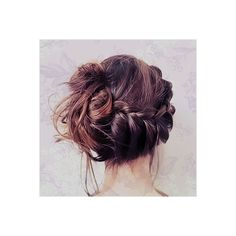 elegantly messy ❤ liked on Polyvore featuring hair, pictures, hair styles, hairstyles and people