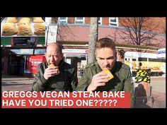 Tasting The Greggs Vegan Steak Bake, Whats it Like ? Steak Bake, Greggs, Winter Sale, Vegan Friendly, Baking, Funny, Bakken, Bread, Backen