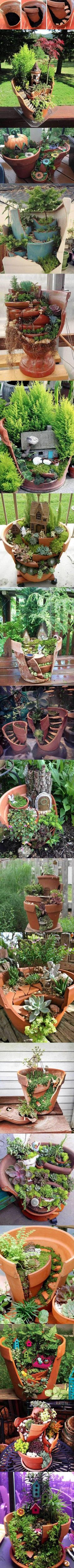 Don't Trash Broken Pottery, Instead Do This With It
