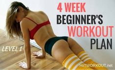 "Looking a quick, convenient way to get more activity in your day, growth strength, and generally feel better about yourself? I have got just what you need! Introducing our all-new ""4 Week Beginner Workout Plan""! These"