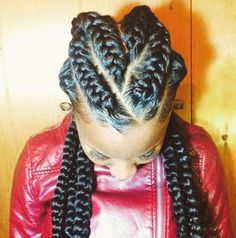 Chunky braids
