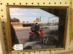 Motorcycle Pain Center Crotch Rocket. Digital print signed by Richie Budd (dealer 6925) available at 1010 N Riverfront Blvd, Dallas, TX 75207 (214) 749-1929