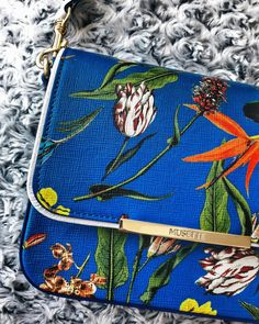 #bag #blue #musette