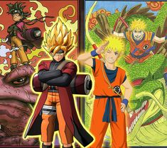 Naruto & Goku