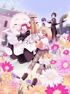 Kuroshitsuji, Bardroy, Mey-Rin, Finnian, Ciel Phantomhive and Sebastian by Yuuma