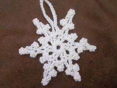 Ravelry: Quick Picot Snowflake pattern by Joanne Scrace