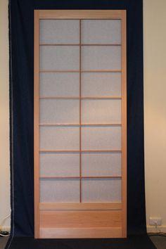 Shoji sliding door (2040mm high) by hisazendesigns on Etsy