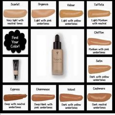Younique's amazing liquid foundation is light to wear but provides amazing coverage. It dries to a matte finish so that there is no need for powder.  It now comes in even more shades! www.barbwagstaff.com/younique