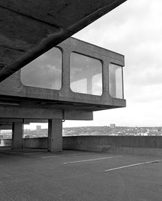 Visions of an Industrial Age: Trinity Centre Carpark | 1962-1967 |Gateshead, England | Rodney Gordon for Owen Luder Partnership | Photo by Simon Phipps