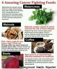 Fight cancer foods