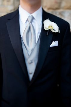 Brian likes this for the groomsmen. He wants a black tie and vest.
