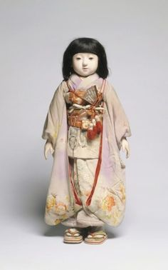 """nihon-no-ningyou: """" This Friendship Doll is Miss Gifu. She was made by the Yoshitoku Doll Company in Tokyo and represents Gifu Prefecture on central Honshu. While she was originally given to the. Paper Dolls, Art Dolls, Cleveland Museum Of Art, Cleveland Ohio, Matsuri Festival, Vintage Japanese, Japanese Doll, Gifu, Asian"""