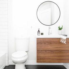 Further proof from that the best way to upgrade your IKEA Go. - Further proof from that the best way to upgrade your IKEA Godmorgon bath cabine - Ikea Bathroom Vanity, Small Bathroom Vanities, Attic Bathroom, Bathroom Renos, Basement Bathroom, Bathroom Flooring, Bathroom Furniture, Bathroom Renovations, Bathroom Interior