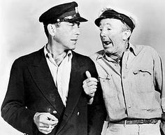 Humphrey Bogart and Walter Brennan in To Have and Have Not (1944). Two of the best.