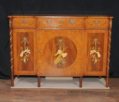 Painted Regency Antique Sideboard