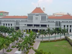 Singapore Parliament House.