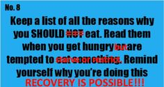 #anorexia #eatingdisorder #recovery
