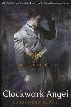Charlie recommends Clockwork Angel by Cassandra Clare