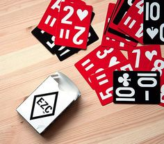 Playa Please: 14 Well-Designed Decks of Playing Cards via Brit + Co.