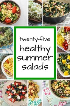 I don't know about you, but I eat a ton of salad in the summer. This could be an unconscious reaction to constantly being in a bathing suit or maybe its just all the amazing summer produce and...