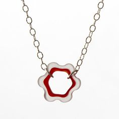 Bottle Top Necklace Red now featured on Fab.