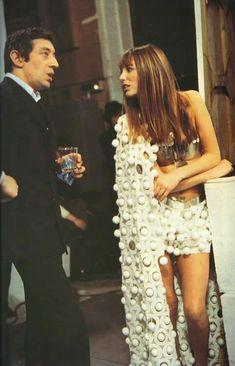 Jane Birkin et Serge Gainsbourg. 1970