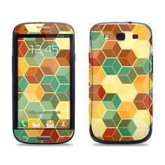 Samsung Galaxy S3 Phone Case Cover Decal  Retro by skunkwraps, $9.95