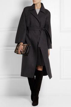 Soft classic coat