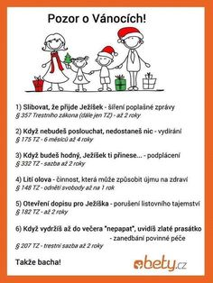 Pozor o Vánocích! Funny Texts, Funny Jokes, Funny Shit, Funny Images, Funny Pictures, Good Jokes, Kids And Parenting, Good To Know, Haha