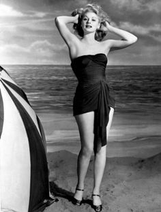 Lucille Ball -- Started out as a dancer! When I grow up I want to have legs like hers!  Gorgeous!