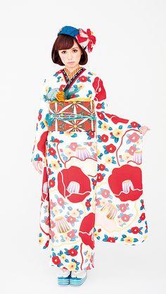 kawaii kimono: furisode
