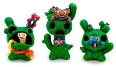 "SpankyStokes.com | Vinyl Toys, Art, Culture, & Everything Inbetween: PJ Constable x Collect and Display - ""Cactus Critt..."