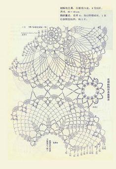 World crochet: Tablecloth 225 Crochet Art, Crochet Home, Love Crochet, Irish Crochet, Crochet Motif, Crochet Doilies, Crochet Tablecloth, Doily Patterns, Crochet Patterns