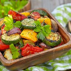 I'm checking out a delicious recipe for Grilled Vegetable Medley from Kroger!