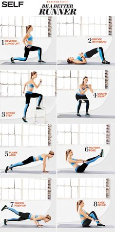 Strength training moves to improve your run. #RunProud #ChantelleContest