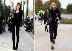 rock chic street style how to