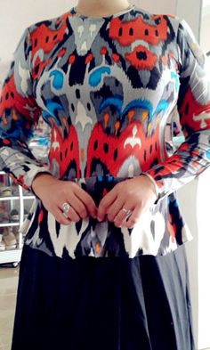 Batik etnik spandek