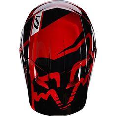 2017 Fox Racing V1 Race Helmet-Red-XL