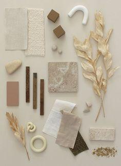 Colour Schemes, Color Trends, Material Color Palette, Casa Wabi, E Design, Interior Design, Rustic Ceramics, Style Deco, Colour Board