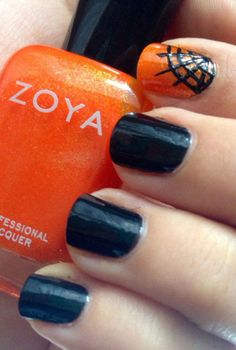 Halloween nail designs - These Are The 9 Halloween Nail Art Designs You've Been Looking For. Check out these spooky nail designs that aren't cheesy or look like a 12-year-old did them. Bonus: you can still rock these manicures after Halloween without getting weird looks. Check out our favorite Halloween nail art at redbookmag.com
