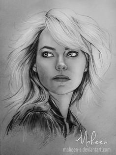 Emma Stone Sketch