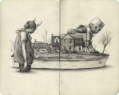 10/14 sketchbook - Blog - Pat Perry