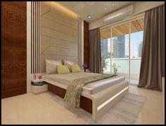 Guest bedroom minimalist bedroom by n design studio minimalist Bedroom Furniture Design, Bed Design Modern, Ceiling Design Bedroom, Bedroom Closet Design, Room Design Bedroom, Simple Bedroom Design, Guest Room Design, Sofa Bed Design, Modern Style Bedroom