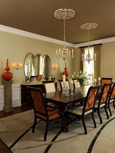 Dining Room Painted Ceilings Design, Pictures, Remodel, Decor and Ideas - page 23