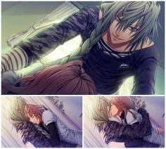 Amnesia Later CG Gallery - Ukyo Route Me Me Me Anime, Anime Guys, Manga Anime, Anime Couples, Cute Couples, Amnesia Ukyo, Amnesia Memories, Anime Love Story, Comic